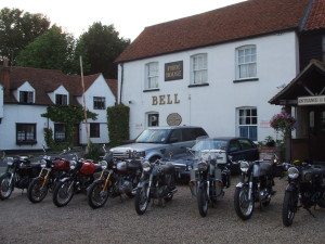The Bell with Bikes